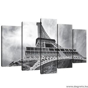 Vászonkép szett 5 darabos Eiffel Torony 4