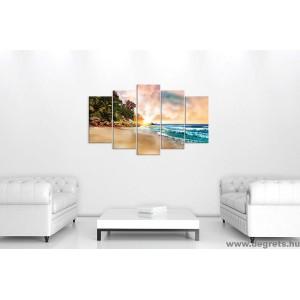 Vászonkép szett 5 darabos Bahamák