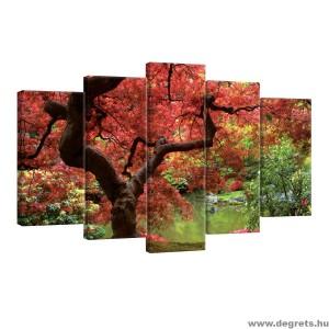 Vászonkép szett 5 darabos Természet 4
