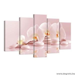 Vászonkép szett 5 darabos Orchidea 6