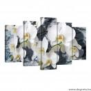 Vászonkép szett 5 darabos Orchidea 1