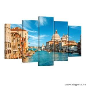 Vászonkép szett 5 darabos Velence 1