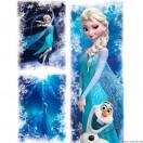 Vászonkép szett 3 darabos Elsa 4