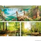 Vászonkép szett 3 darabos Természet 5