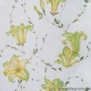 Tapéta simplex Liliom zöld