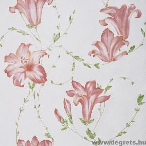 Tapéta simplex Liliom barna
