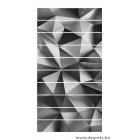 Matrica lépcsőhöz ezüst 3D absztrakció