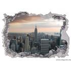 Matrica New York felhőkarcolók 3D