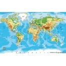 Matrica Világtérkép