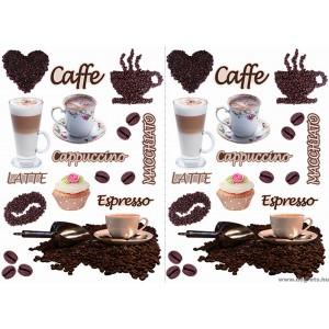 Matrica Kávé 1