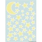 Matrica Sötétben világít- Csillagok
