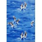 Tapéta PVC Delfinek sötét kék