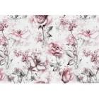 Fotótapéta Bézs Rózsák 3D L
