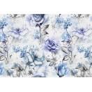 Fotótapéta Kék Rózsák 3D L