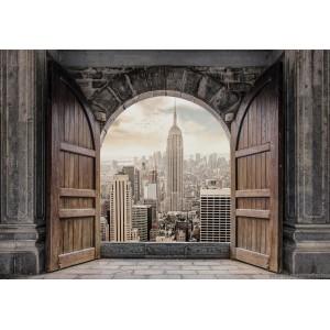 Fotótapéta Bejárat New Yorkba 3D L