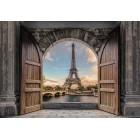 Fotótapéta Bejárat Párizsba 3D L