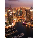 Fotótapéta Dubai jachtkikötő  2 L 2