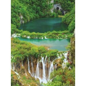 Fotótapéta Vízesés a dzsungelben L 2
