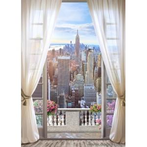 Fotótapéta Kilátás New Yorkra