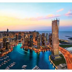 Fotótapéta felhőkarcolók 3