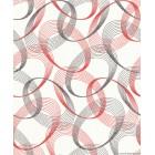 Tapéta vinyl Ara kör 3D piros