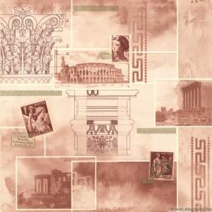 Tapéta PVC Roma - Versace bézs