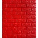 Öntapadós 3D Tapéta piros