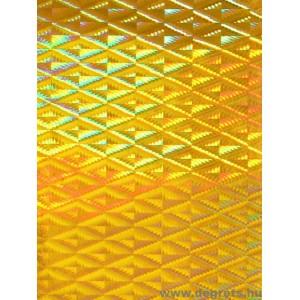 Fólia sárga metál