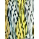 Fólia Hullám fehér-sárga 3D