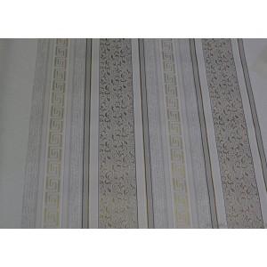 Tapéta papír Csíkos Versace fehér