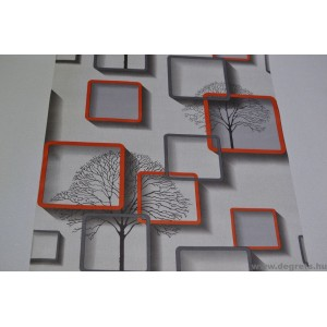 Tapéta simplex Nelmi 3D szürke