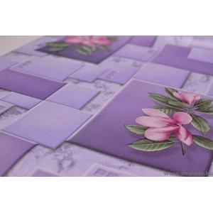 Tapéta vízálló Ophelia lila
