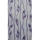 Tapéta simplex Katrin fehér-lila
